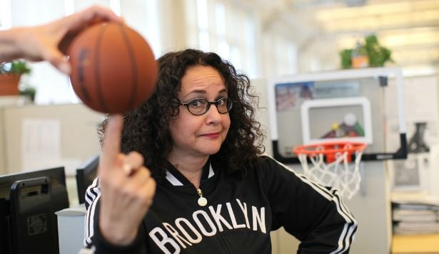 wnyc:  Why should On The Media's Brooke Gladstone be the next coach of the Brooklyn Nets?