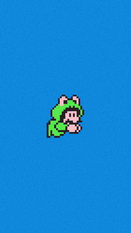 Mario Frog suit iPhone5 Wallpaper
