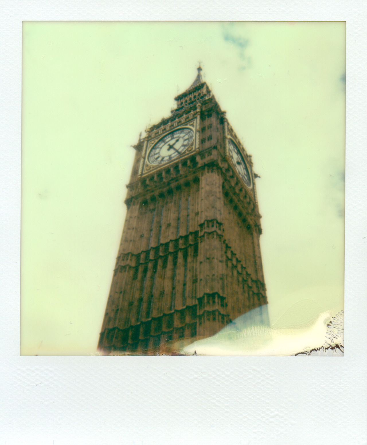 Big Ben Polaroid - Apr 27th