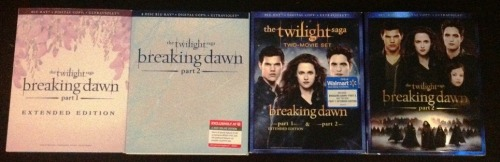 "The ultimate guide to the ""Breaking Dawn - Part 1, Extended Edition"" and ""Part 2"" DVD release - everything you need to know right here."
