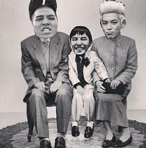 Big Bang Mother-Father-Son Picture, 'So Funny' http://ygunited.com/2013/05/big-bang-mother-father-son-picture-so-funny/?utm_source=rss&utm_medium=rss&utm_campaign=big-bang-mother-father-son-picture-so-funny www.gdragonfans.com