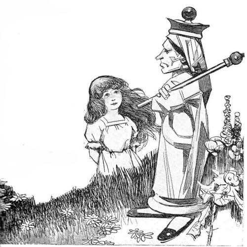 "Alice and the Queen ""Wonderland Stories"" simplified by Elizabeth Lewis. Tonal illustrations mostly done by Philip Lyford."