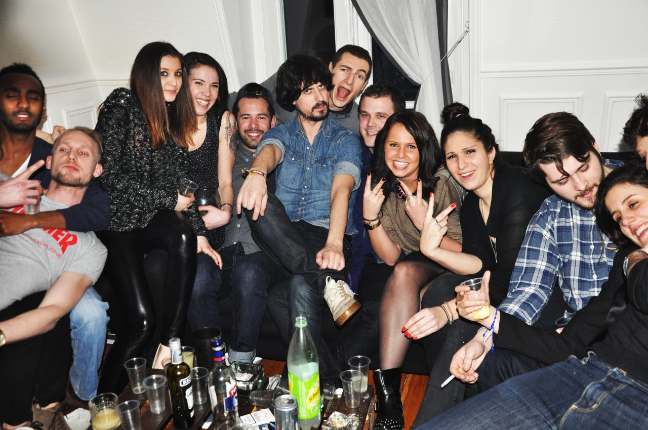 Paris - Mars 2013 #friends #drink #night #party #paris
