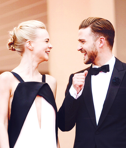 Carey Mulligan and Justin Timberlake at 2013 Cannes Film Festival