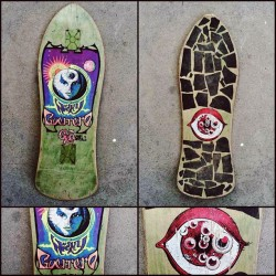 Deck of the Day | G&S | Nicky Guerrero   #nickyguerrero @g&s #sk8face