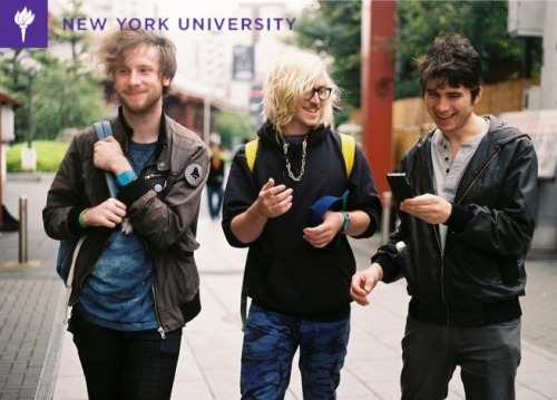 When are we gonna get paid to be in NYU ads #college