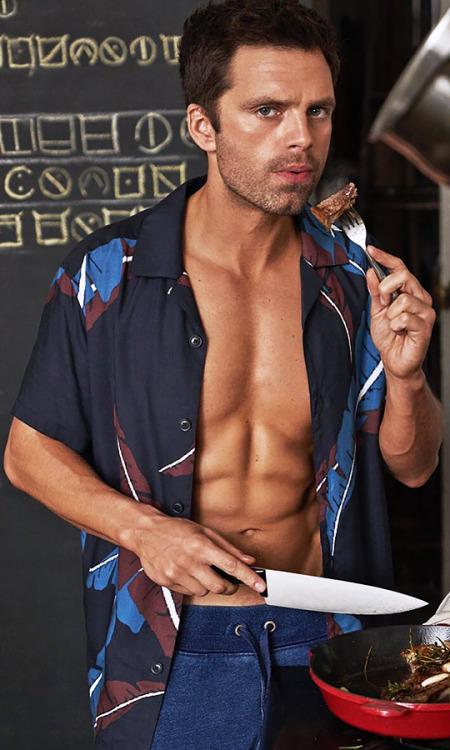 gaybuckybarnes:  Sebastian Stan For Men's Health January/February 2020 #gosh darnit #im still thirsty #sebastian stan