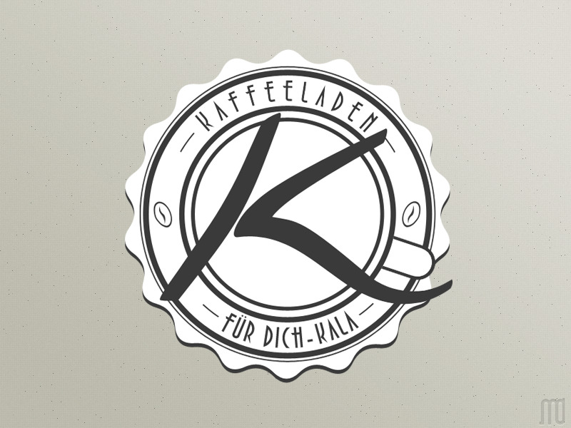 Finished my work on a logo for a café in my hometown.   Kaffeeladen Logo on @dribbble: http://t.co/bvM7LYGJ