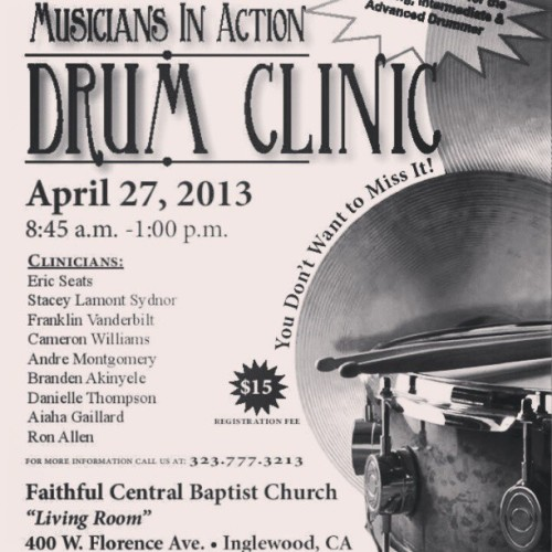 MIA CLINIC part2.!                           Come out and be blessed!!           @msaquyla here is the flyer..feel free to spread the word. Be Blessed.