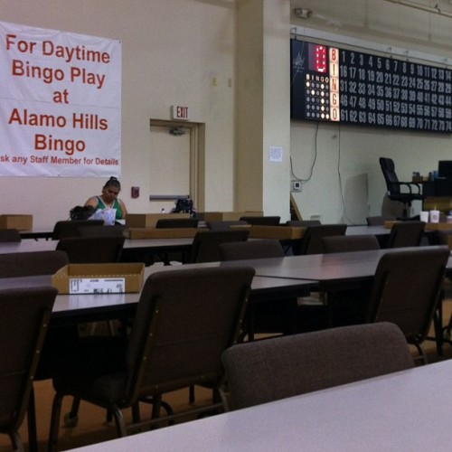 When in #SA, #BINGO! With my Tia & Sis… #wishusluck$$$..;)