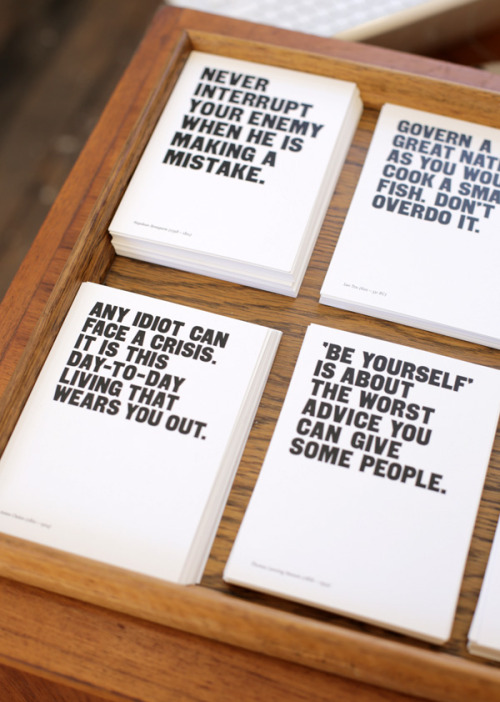 Postcards from the new School of Life in Melbourne (via The Design Files)