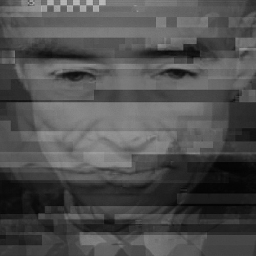 Robert Oppenheimer, distorted. For Radiation Situation pop-up show at DePaul https://www.facebook.com/events/303529949774266/