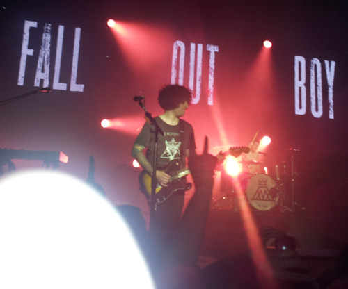 5/14/13 Fall Out Boy at The Rave