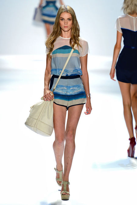 How am I just seeing this? Charlotte sooort of killed it with this ensemble…finally.  Charlotte Ronson Spring 2013 RTW