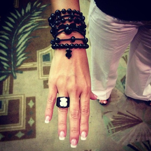 TOUS fan at the Smiles of Hope 2013 event #event #bracelets #onyx #ring #bear #smilesofhope #2013 #lovetouspics #welovetous #tousjewelry #tousbocaraton #tous