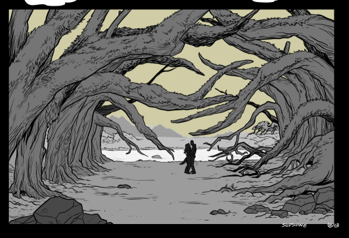 ALSO I am super proud of this panel. Put your peepers on it! Last tease I will do for this comic.
