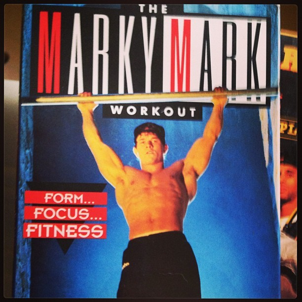 Oh hells yessssss!!!!!! #movingtreasure #favthings #markymark #workouttape #backintheday #obsessed #iloveyoumarkymarkforeverandever #markwahlberg