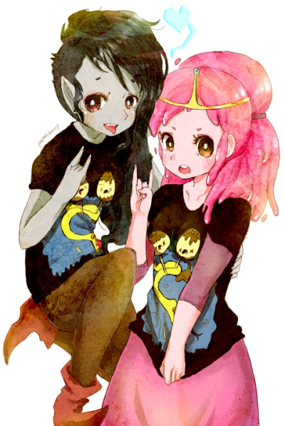 kawaiideimos:  Marcy and PB.