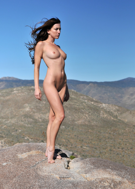 Goddess on the Mountain Top by *BHfotografik