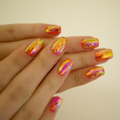 nails nailart naildesign nailsnails nail art nail design iridescent