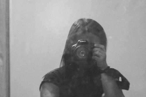 untitled on Flickr.Self portrait.