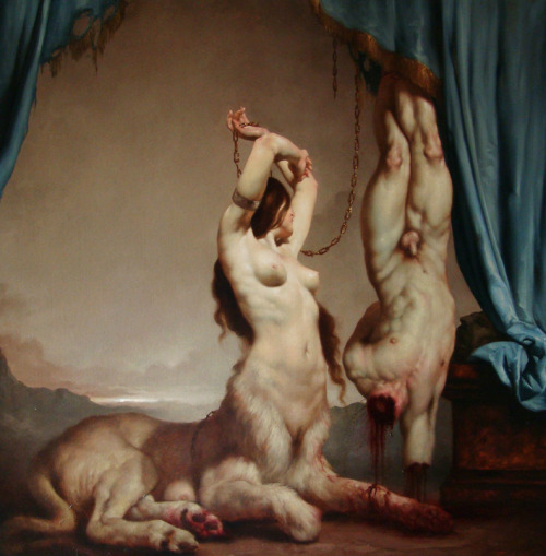 raveneuse:  Roberto Ferri  The Theater of Cruelty