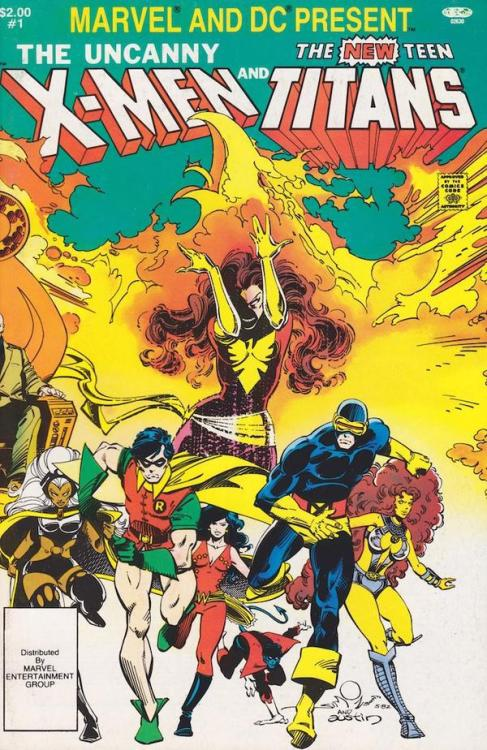 Crossover X-Men / The new titans