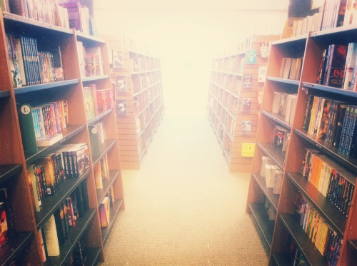 there is nothing better than a bookstore. serious. I could spend all day in one and not ever want to leave. If there is a heaven, this is what going up to it looks like