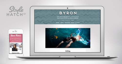 "Byron Premium Tumblr Theme After countless requests for us to create a theme that shines for long-form essays, articles and high-resolution photography we are excited to release Byron.  Even though we spent a lot of time on the photo and text posts, every post type has been thoughtfully designed to create one Style Hatch's most versatile premium themes yet.  From the beginning Byron was designed to be fully responsive so that your blog looks fantastic from the largest resolution screens, all the way down to mobile devices.  Go ahead, try it out! For a slightly softer and more ""fashionable"" style check out our alternate demo site for Byron Fashion."