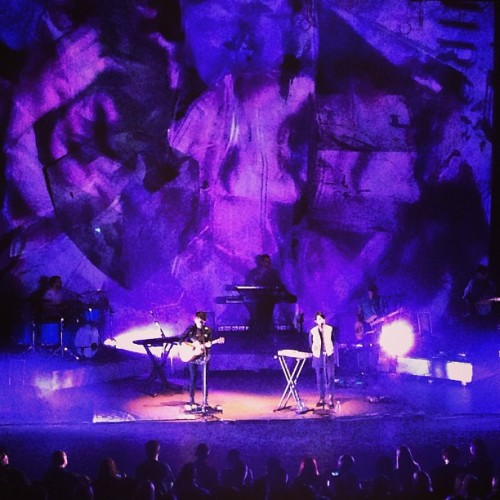 "February 20th, 2013: Tegan and Sara. Beacon Theater, NY. What a great show! They closed their encore with ""Feel It In My Bones"", which I never expected them to play live. Dance party!"