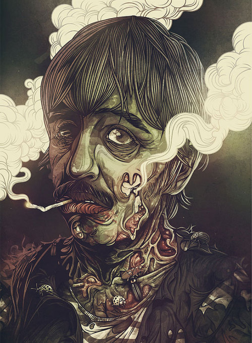 Estudio PUHL illustration |  Sick illustrations.