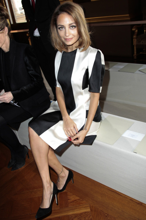 Nicole Richie - Stella McCartney AW 2013-2014 Paris Fashion Week