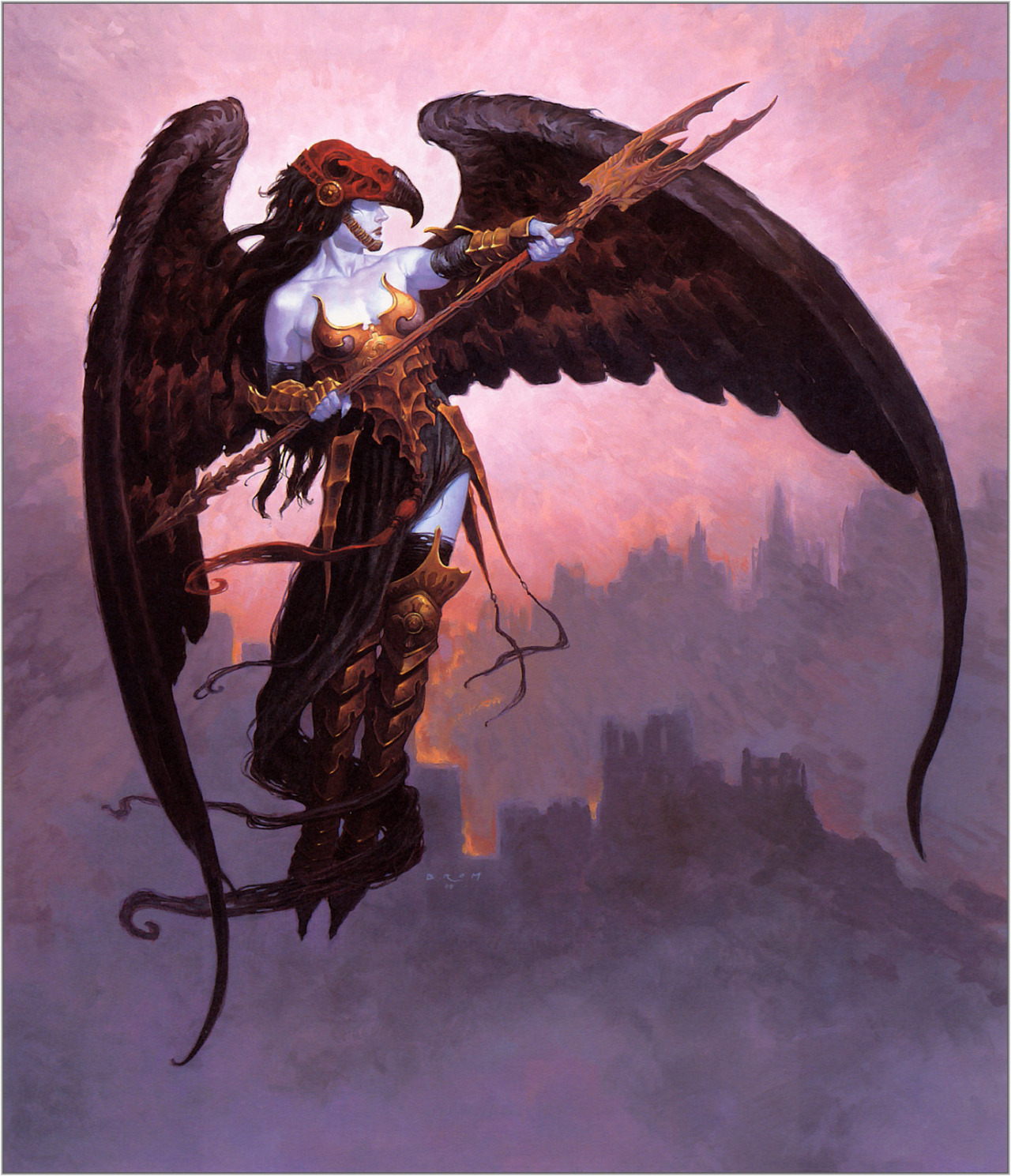 brudesworld:  Black Wing by Gerald Brom