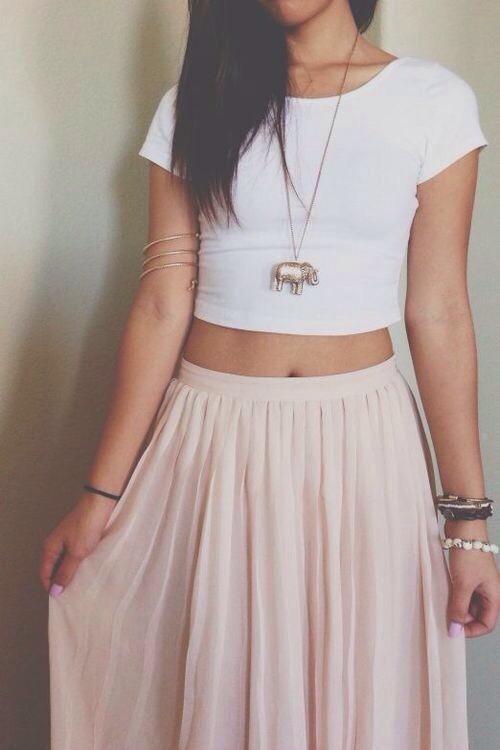 Long skirts on Tumblr