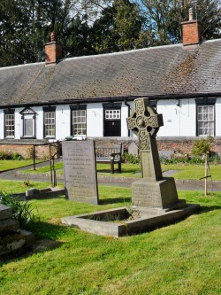 Alms Cottages over look St Peters Churchyard, Mancetter, Leicestershire, England All Original Photography by http://vwcampervan-aldridge.tumblr.com