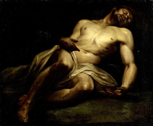 Lodovico Carracci (Italian, 1554-1619) |  Lying Christ