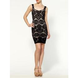 Free People Seamless Medallion Sweetheart Slip Dress