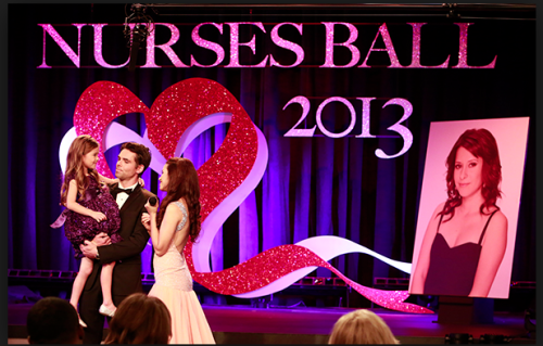 Fictional HIV/AIDS Event Marks 50 Years of General Hospital The Nurses' Ball is dedicated to the character of Robin Scorpio-Drake, MD, played by Kimberly McCullough to commemorate the 50th anniversary of the ABC soap opera. Her love story, of contracting AIDS from her boyfriend is a fan favorite.