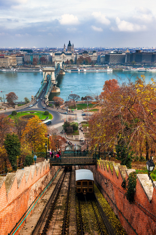 travelingcolors:  Climbing Castle Hill, Budapest | Hungary (by John & Tina Reid)  take me back!