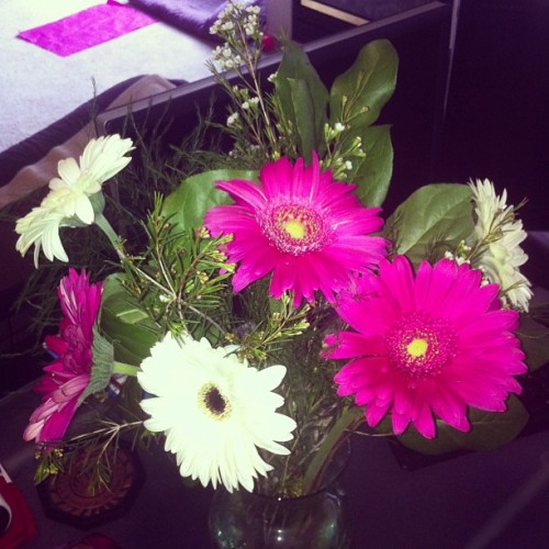 Birthday flowers :) :)