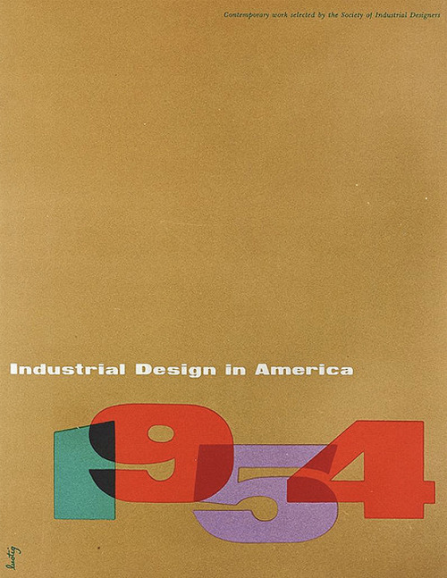 Industral Design in America 1954.