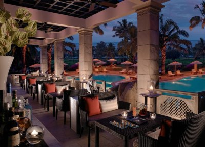theleela:  From its sea food served poolside to where a hand-rolled cigar paired with the perfect cognac, the dining experience at The Restaurant at The Leela Goa rises above all, with imaginative menus superbly executed.