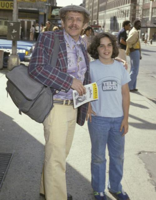 peterfromtexas:  Ben and Jerry Stiller in NY, circa 1978