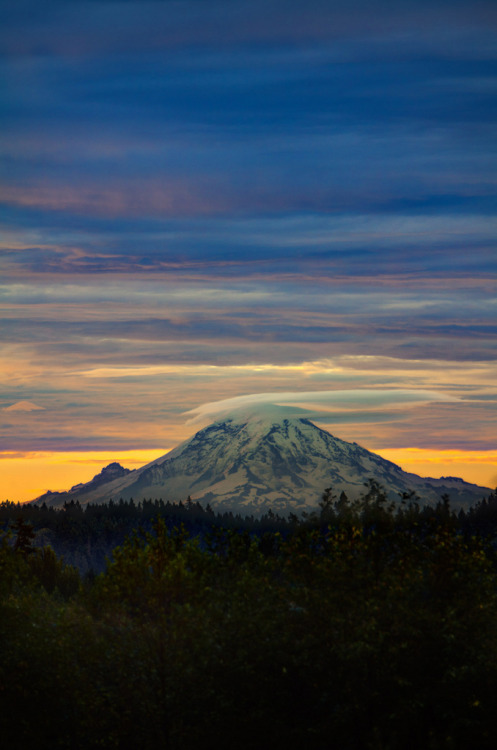 touchdisky:  Mount Rainier, Washington, USA by Mantis of Destiny