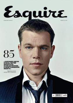 coverjunkie:  Esquire (Russia) Matt Damon stars this coolio cover Esquire Russian edition