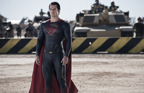 Henry Cavill as Superman in Man of Steel.