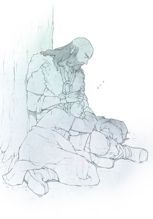 Dwalin/Ori is my OTP right now. Hah … ♥