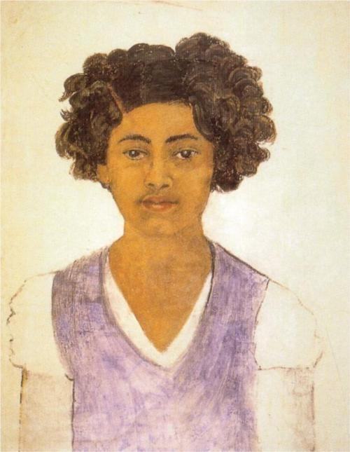 !!!  artistandstudio:  Frida Kahlo, self-portrait, 1922, (age 15)