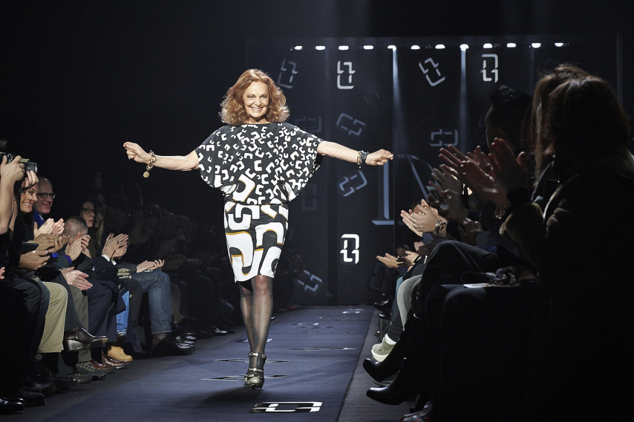 DVF RTW FW13  Lincoln Center  Sunday February 10th 2013  Diane Von Furstenberg  Produced and designed by Bureau Betak