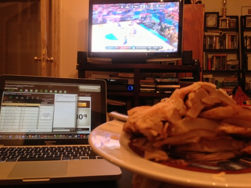Nothing more American than March Madness, (fantasy) baseball, and apple pie.
